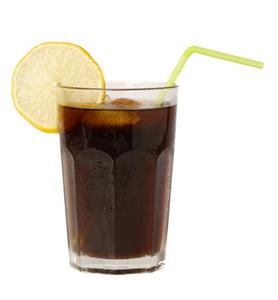 Glas Cola Diät